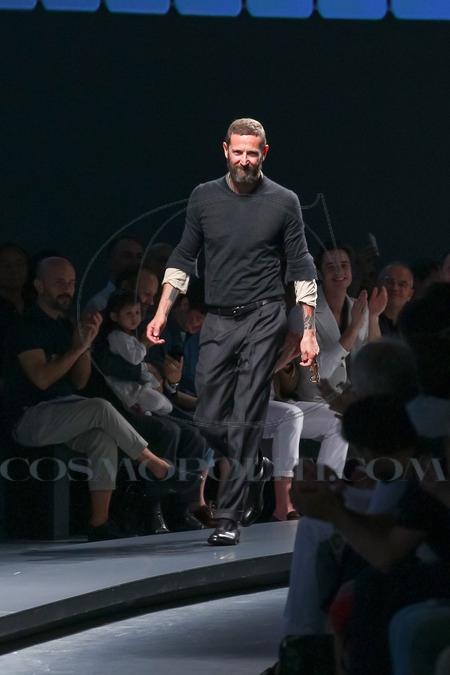 The designer.Stefano Pilati