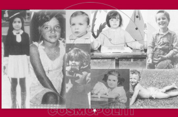Σπάνιες παιδικές φωτογραφίες από ξεχωριστούς ανθρώπους της σόου μπιζ