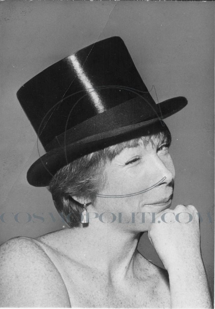 Actress Shirley MacLaine