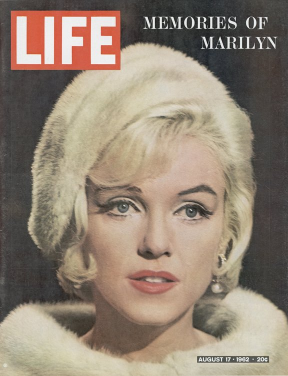 Marilyn Monroe on LIFE Magazine Covers, 1952-1962 (3)