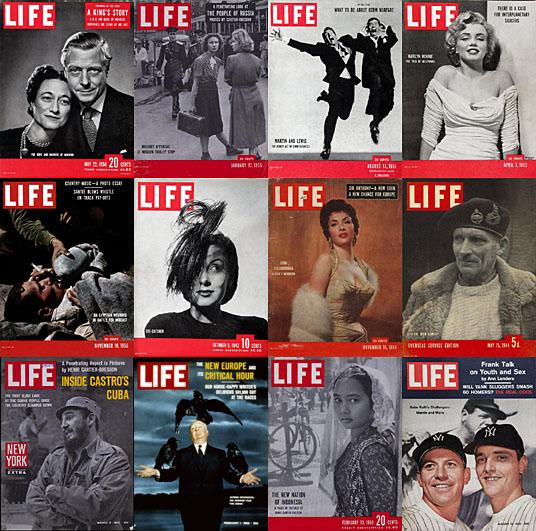 Περιοδικό Life: μια …ζωή εξώφυλλα!