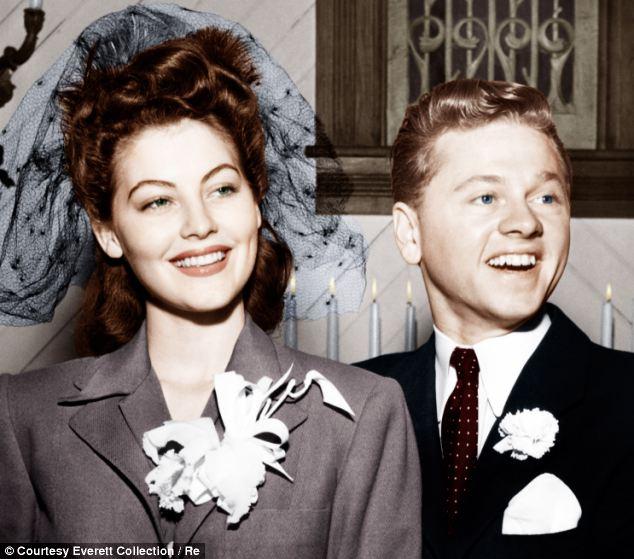 """Ο γάμος της Ava Gardner και του Mickey Rooney: """"Όταν η Άβα εμφανίστηκε, σταμάτησε η καρδιά μου"""""""