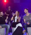 Melina Aslanidou sto Lido Live me Papadopoulo-Karafoti