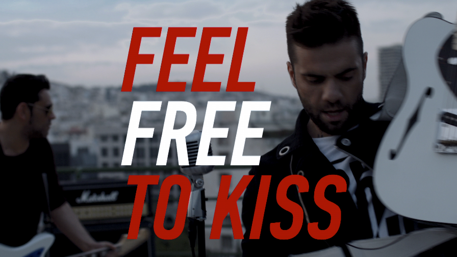 #feelfree2kiss