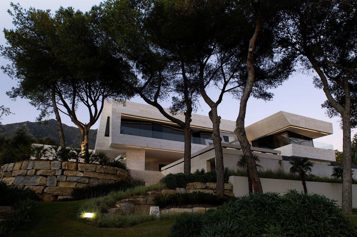 Ένα σπίτι-όνειρο με θέα τη Μεσόγειο