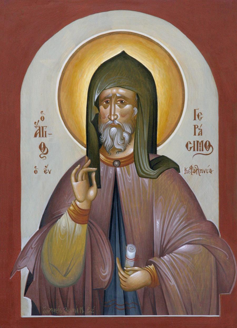 Ο Άγιος Γεράσιμος της Κεφαλονιάς με το άφθαρτο σκήνωμα