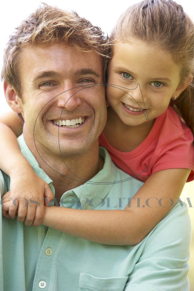 Father-and-Daughter-in-Park