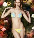 Enya wearing Stars bikini in yellow