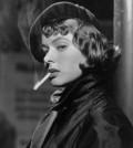 Ingrid Bergman Smoking Cigarette