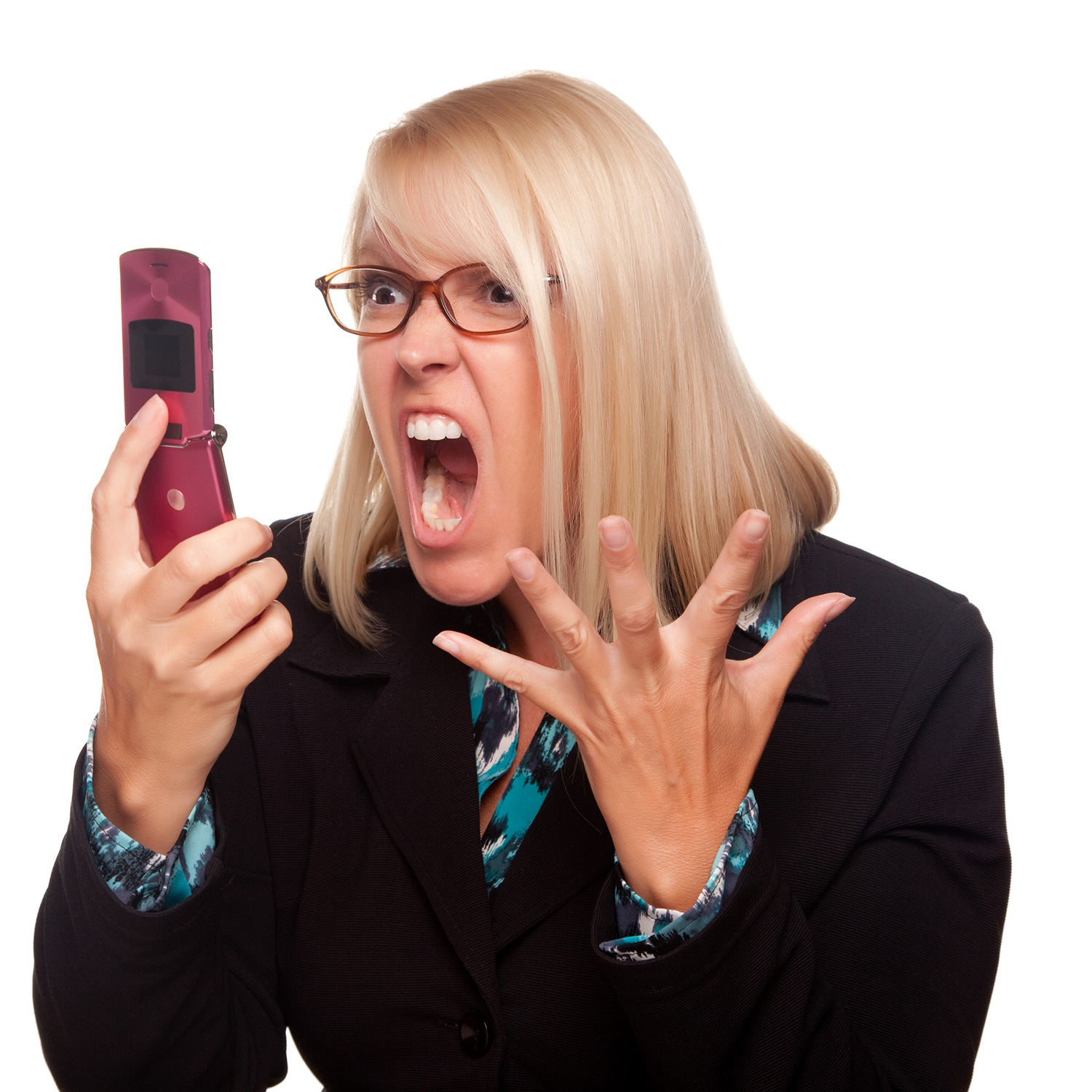 Woman-phone-angry