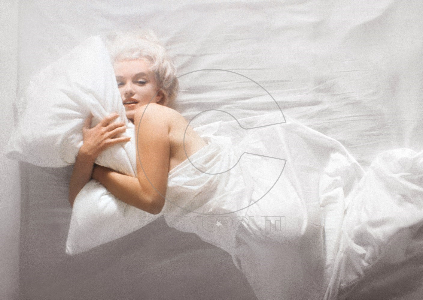 In Bed with Marilyn Monroe, 1961 (1)