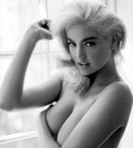 Kate+Upton+Marilyn+Monroe+Fashion+Nude+Naked+Shirtless+Boobs