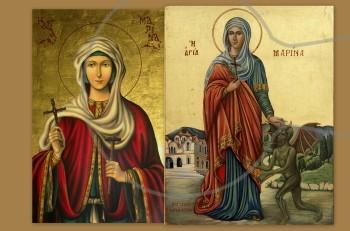 Αγία Μαρίνα: δείρε με, σφάξε με, κάψε με, πνίξε με, τυράνησε μέ…Είμαι Χριστιανή
