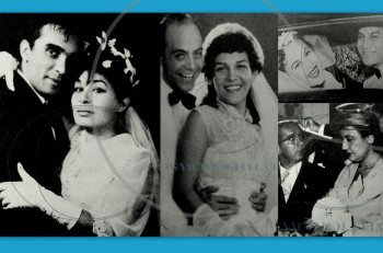 Ευτυχισμένοι γάμοι που άντεξαν στο χρόνο σε ασπρόμαυρο φόντο