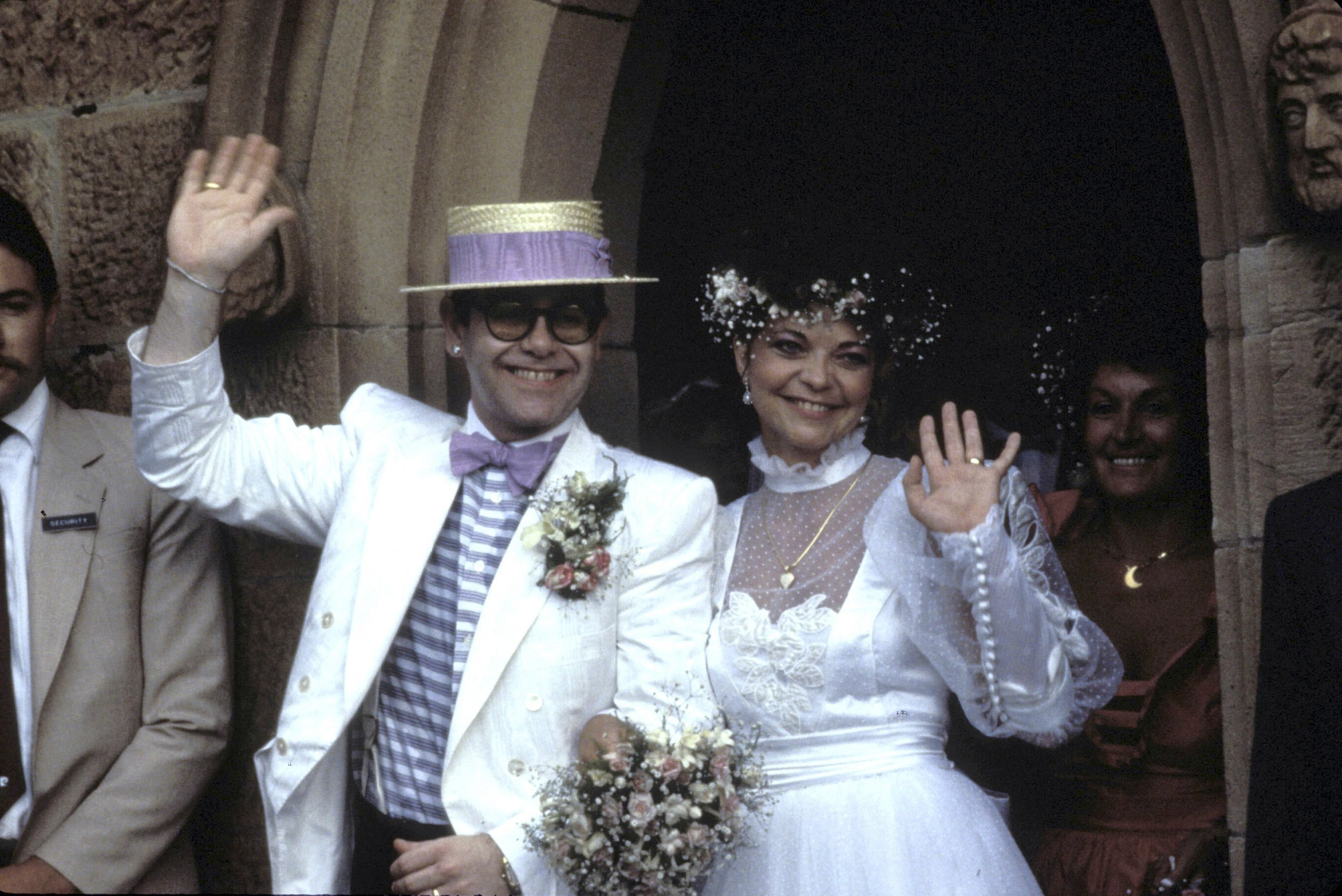 Elton John and Renate Blauel 's Wedding