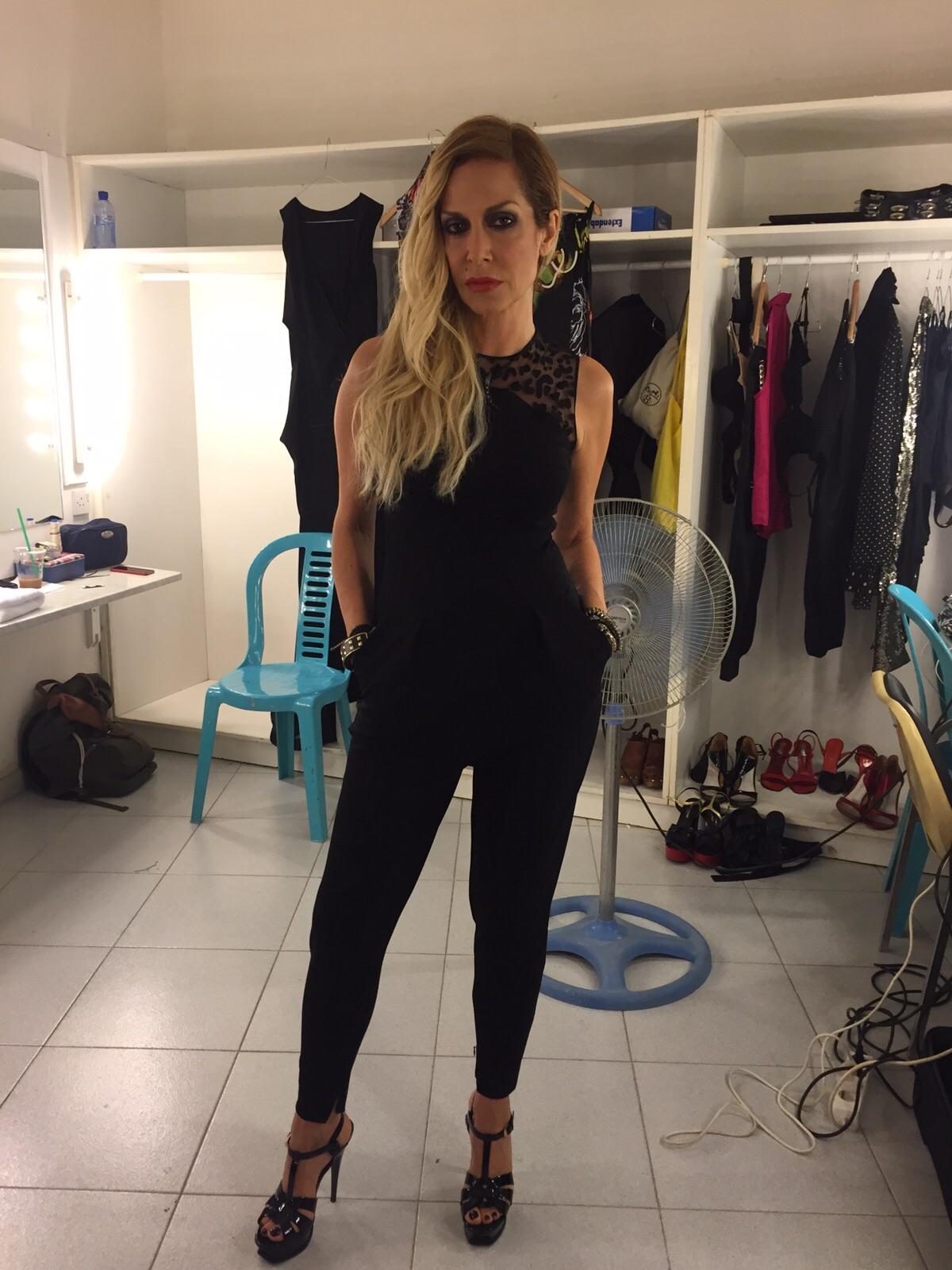 Αποκλειστικό: Η Άννα Βίσση με styling Σοφίας Καρβέλα & η συναυλία στην Κύπρο