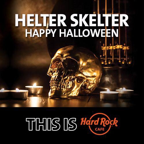 halloween в хард рок кафе: