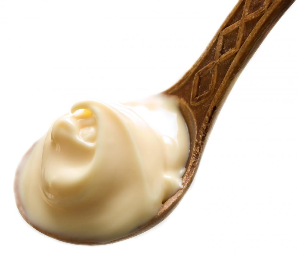 mayonnaise-on-spoon