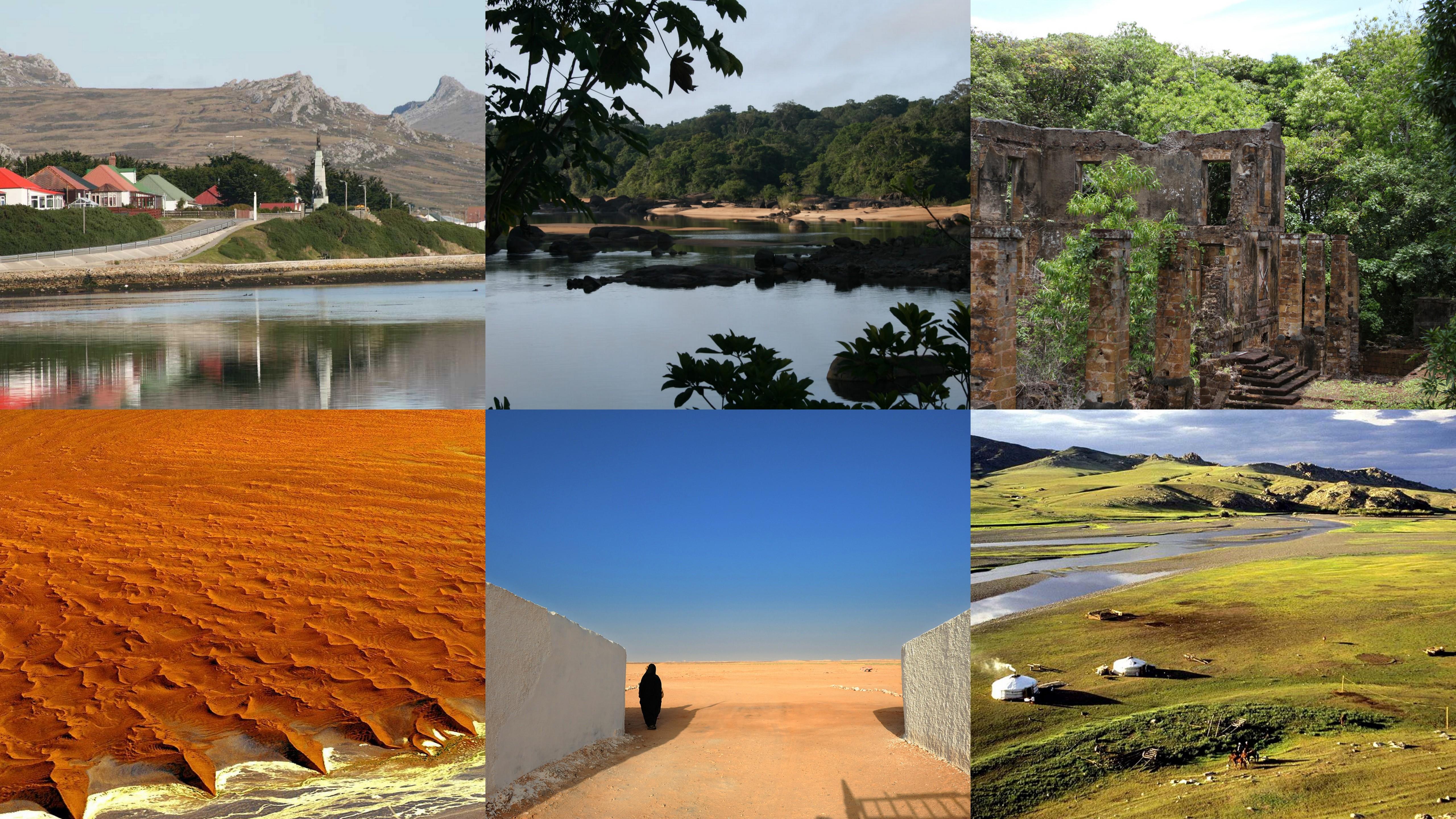 Οι 10 πιο αραιοκατοικημένες περιοχές στον κόσμο