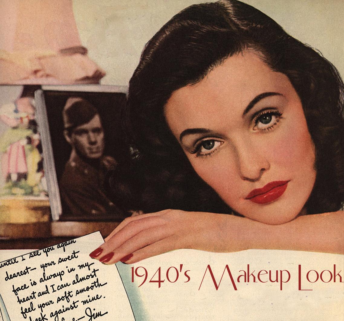 1940s makeup look5