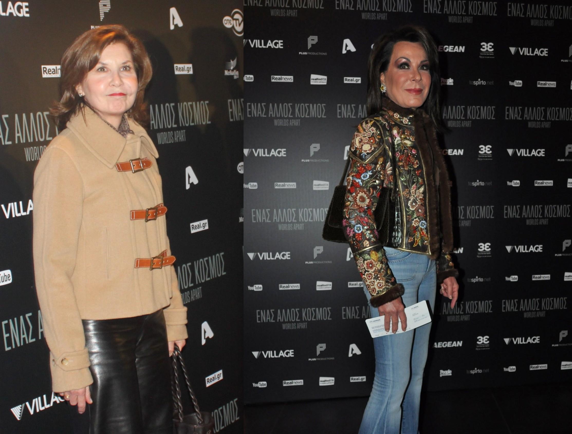 Family Affairs: Η Γιάννα Αγγελοπούλου-Δασκαλάκη με την αδελφή της