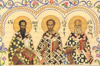 Οι Τρεις Ιεράρχες: μια διαφωνία ανάγκασε την εκκλησία να τους γιορτάζει μαζί