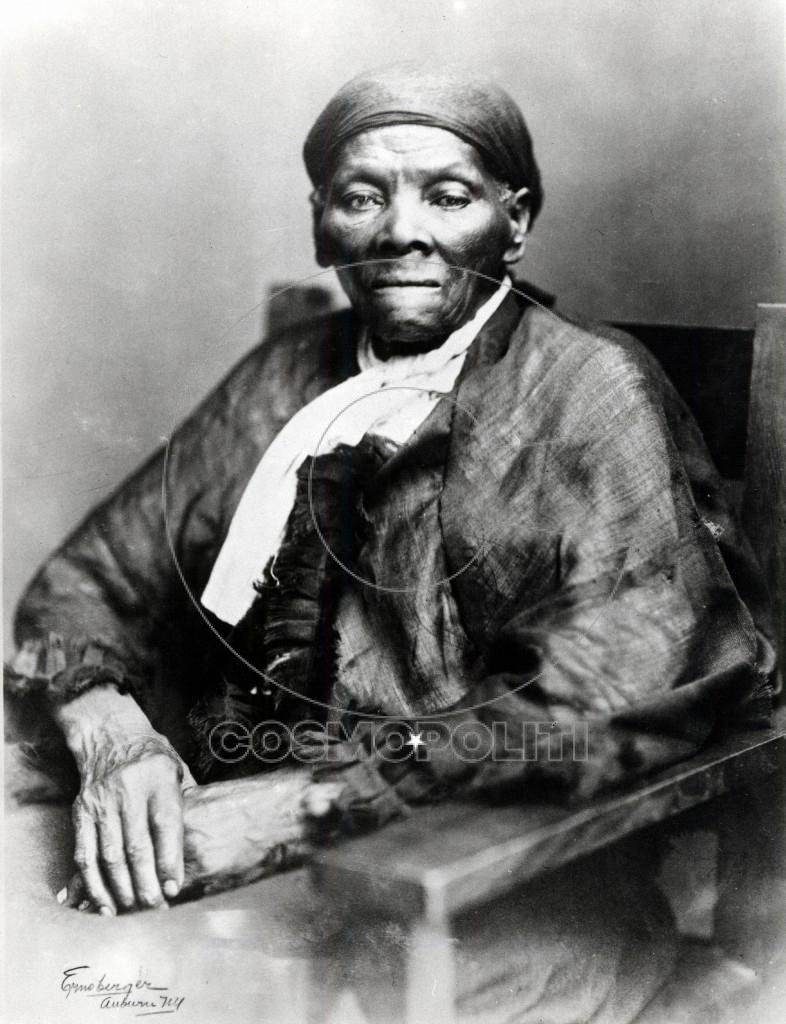 Portrait of abolitionist Harriet Tubman