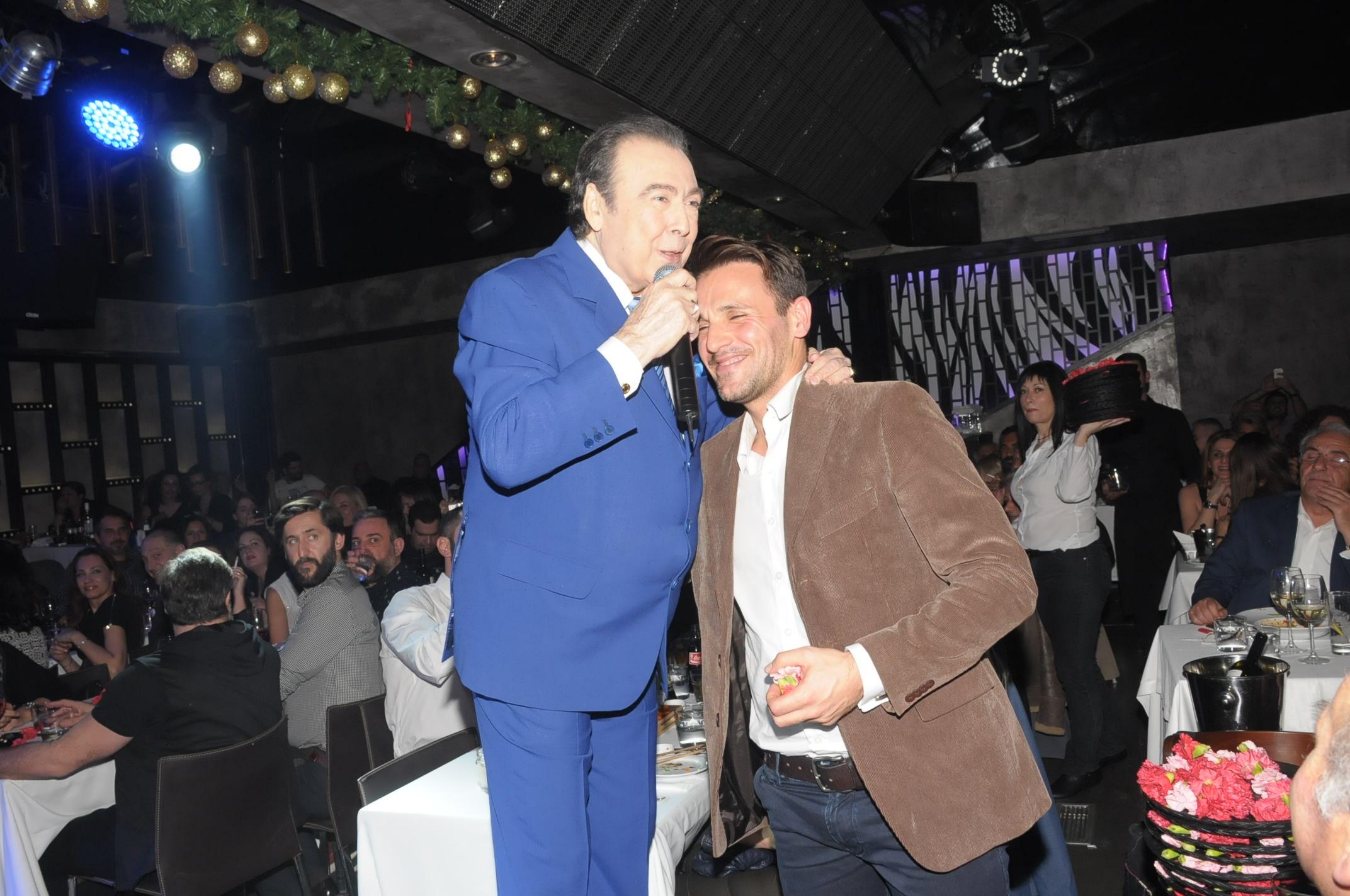 """Τόλης Βοσκόπουλος: """"Αυτός είναι ο Νικολάκης μου…  ο γιος μου"""""""