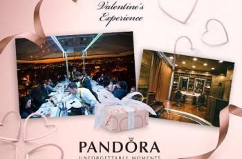 Δώρα & Dinner in the sky από την Pandora για τους ερωτευμένους