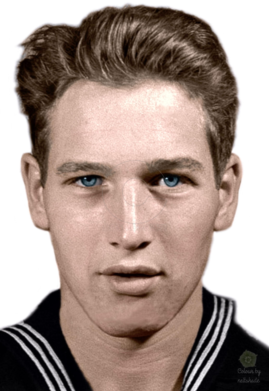 paul-newman-1945