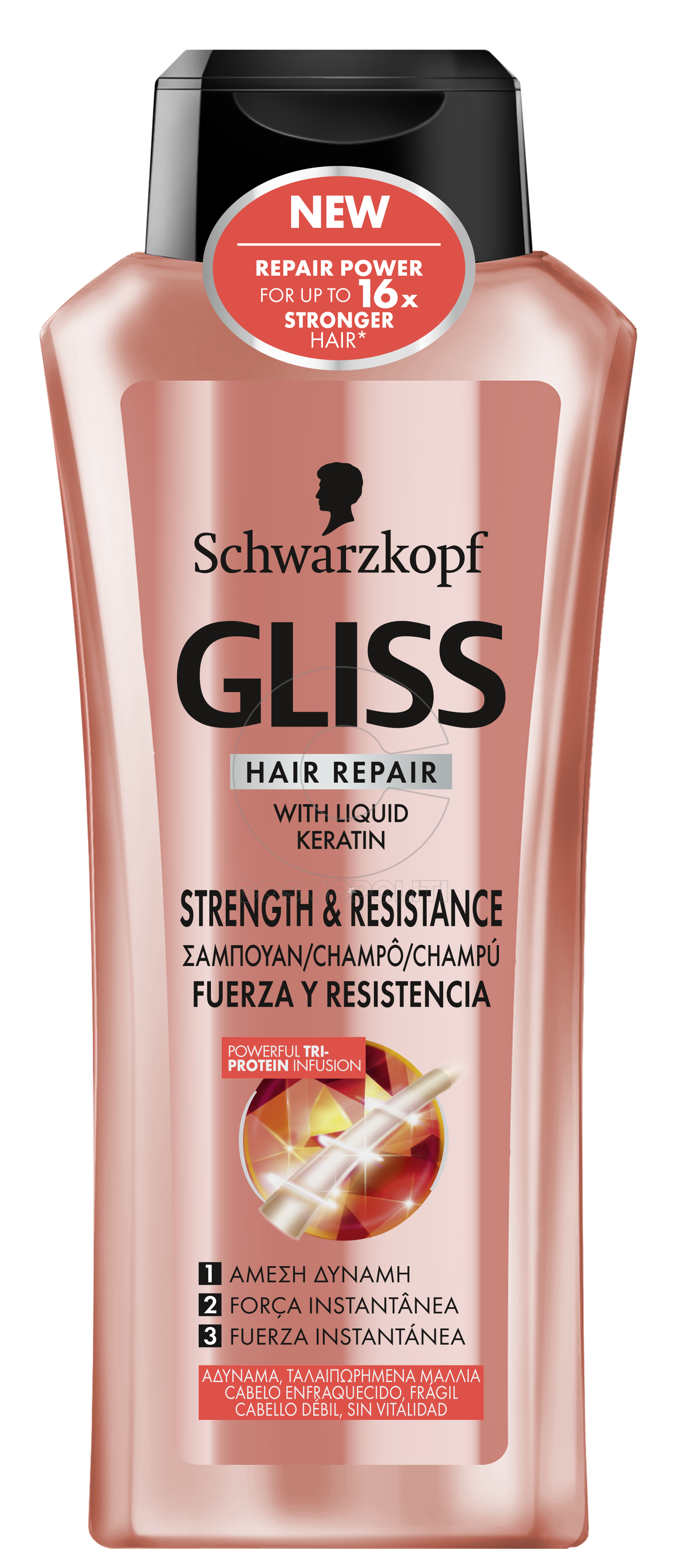 Gliss Strength & Resistance_SHP 400ml