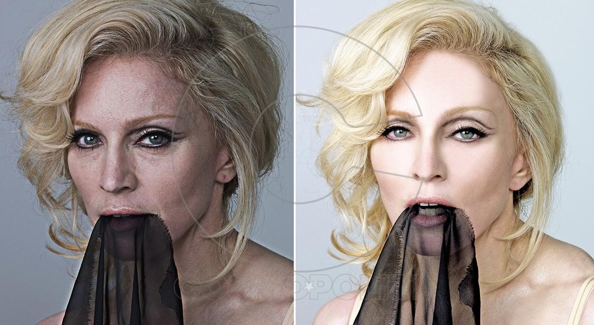 πριν και μετά το photoshop