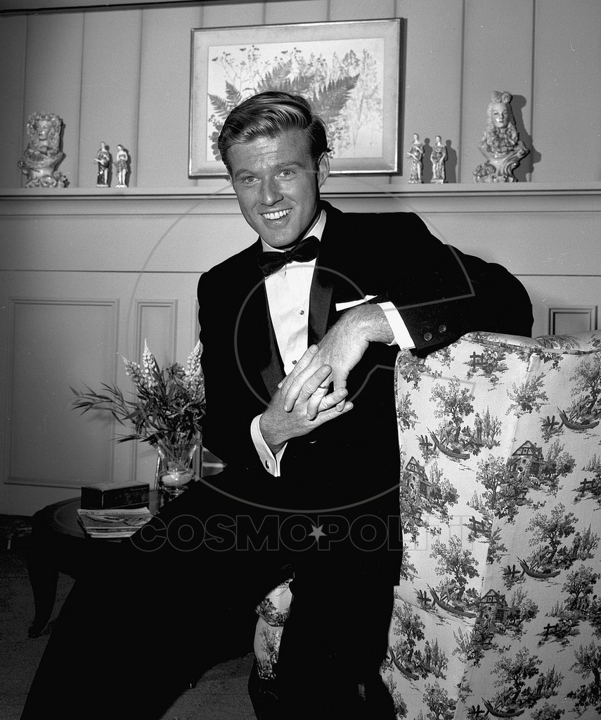 American actor Robert Redford on the set of an episode of 'The Alfred Hitchcock Hour' entitled 'A Tangled Web,' December 13, 1962. The episode was originally broadcast on January 23, 1963. (Photo by CBS Photo Archive/Getty Images)