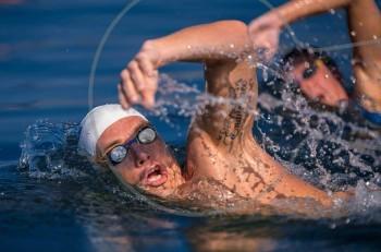 Ο Σπύρος Γιαννιώτης και η ελίτ της κολύμβησης ανοιχτής θαλάσσης στο «Santorini Experience 2016»