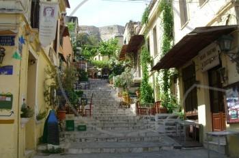 Περίπατος στην Πλάκα και ταξίδι στην αρχαία ελληνική κουζίνα