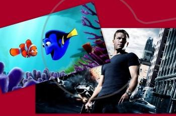 Looking for Dory – Jason Bourne: πάμε σινεμά ή άσ' το καλύτερα;