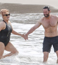 Exclusive... 52020351 'Wolverine' actor Hugh Jackman enjoys a day on the beach while on vacation in St. Barth, France with his wife Deborra-Lee Furness on April 11, 2016. The happy couple are currently celebrating their 20th wedding anniversary! ***NO WEB USE W/O PRIOR AGREEMENT - CALL FOR PRICING*** FameFlynet, Inc - Beverly Hills, CA, USA - +1 (310) 505-9876 RESTRICTIONS APPLY: USA/UNITED KINGDOM/AUSTRALIA ONLY