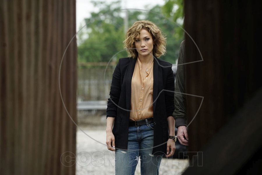 "SHADES OF BLUE -- ""Original Sin"" Episode 102 -- Pictured: Jennifer Lopez as Det. Harlee Santos -- (Photo by: Peter Kramer/NBC)"