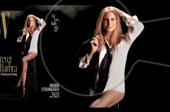 Barbra Streisand: καινούργια φωτογράφηση και συνέντευξη