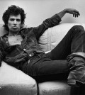 NEW YORK, NY - 1980:  Guitarist Keith Richards of the Rolling Stones, lounges in his New York City, New York, office during a 1980 portrait session. (Photo by George Rose/Getty Images)