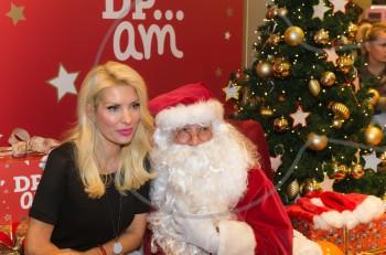 Η Ελένη Μενεγάκη και το Χριστουγεννιάτικο πάρτι της DPAM