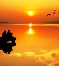 romance en el mar