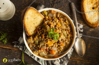 Συνταγή για υπέροχες φακές σούπα