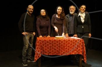 """Κοπή πίτας 2017 για την """"Παρεξήγηση"""" στο θέατρο Radar"""