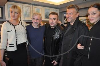 Θεατρική έξοδος για τον Αντώνη Ρέμο και την Υβόννη Μπόσνιακ