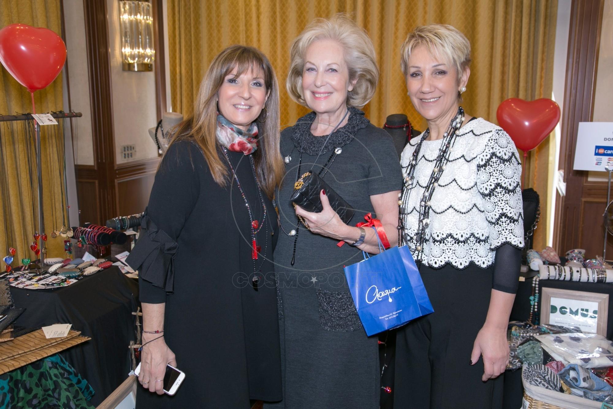 8 Η Μπέττυ Χασόν του DOMUS, η Ηρώ Τζελέπογλου & η Ελένη Ραπτοπούλου του precious jewels