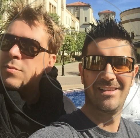Francesco and Chris