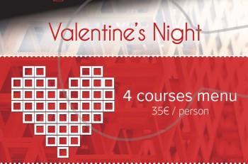 Γιορτάστε τη βραδιά των ερωτευμένων στο Rakkan Bar Lounge Restaurant