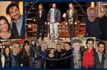 Αμερικάνικος βούβαλος: περίλαμπρη επίσημη πρεμιέρα με πλήθος καλεσμένων στο θέατρο Μουσούρη