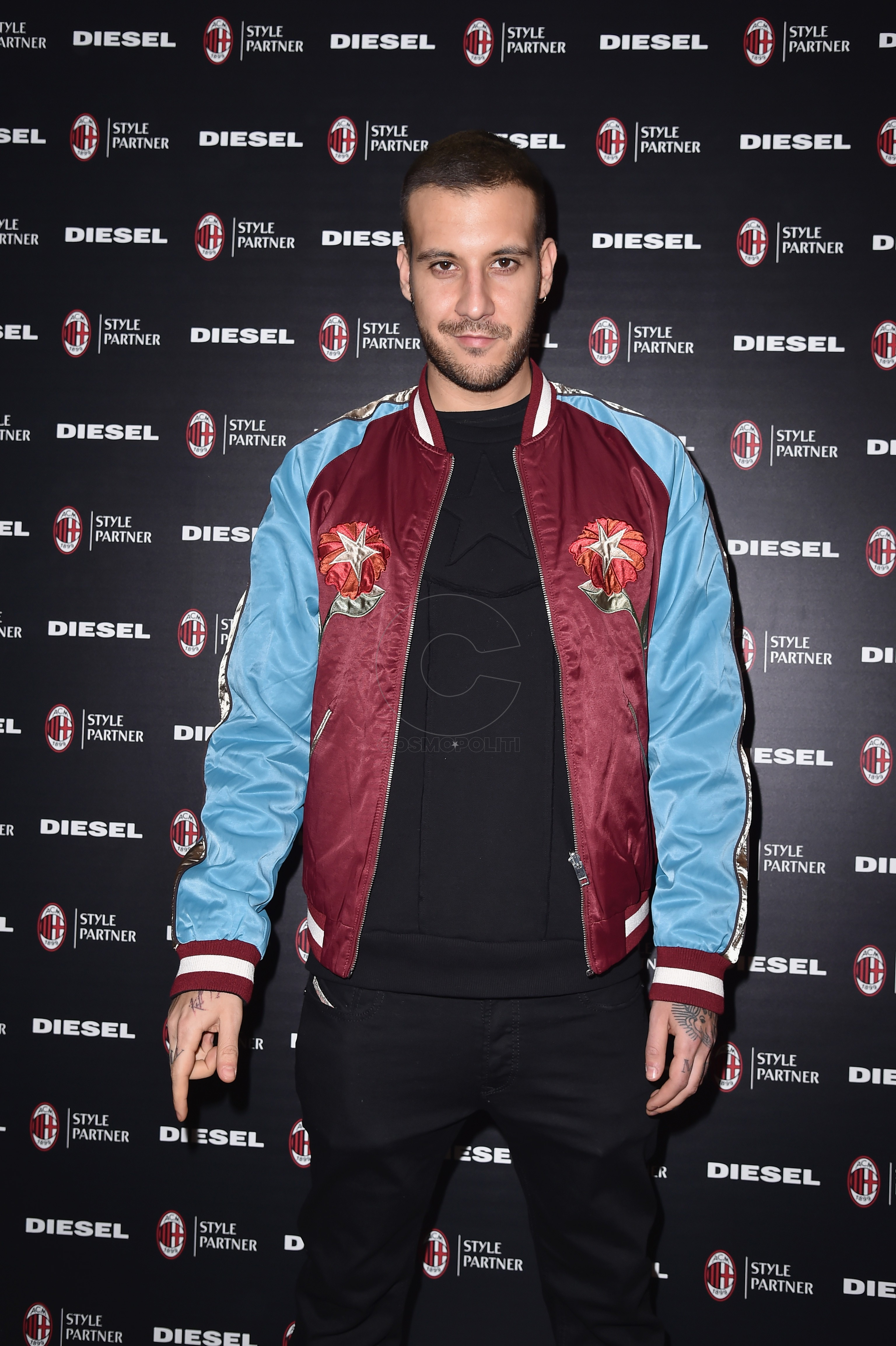 MILAN, ITALY - MARCH 14: Fred de Palma attends The New Bomber Presentation at the Diesel Store on March 14, 2017 in Milan, Italy. (Photo by Jacopo Raule/Getty Images for Diesel)